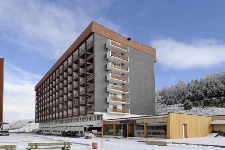 Location au ski Appartement 2 pièces 6 personnes (005) - Residence Les Lauzes - Les Menuires - Extérieur hiver