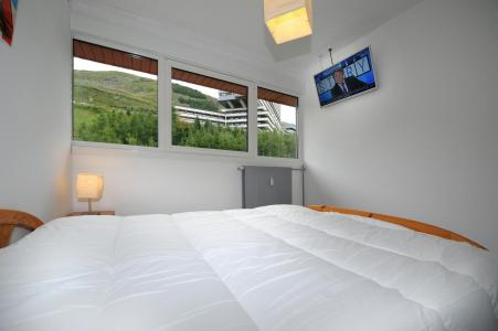 Location au ski Appartement 2 pièces 4 personnes (8) - Résidence les Lauzes - Les Menuires - Chambre