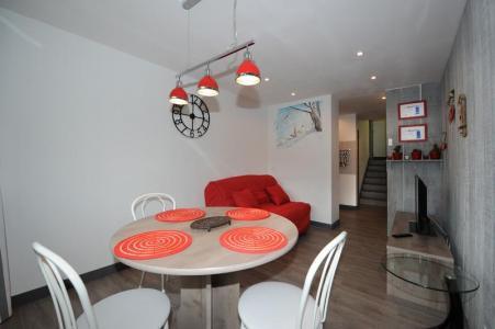 Location au ski Appartement 2 pièces 4 personnes (8) - Résidence les Lauzes - Les Menuires - Salle à manger