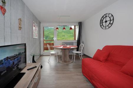Location au ski Appartement 2 pièces 4 personnes (8) - Résidence les Lauzes - Les Menuires - Tv