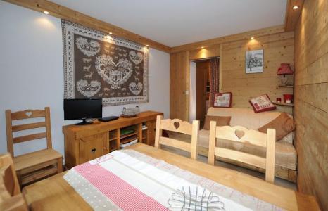 Location au ski Appartement 2 pièces 5 personnes (D3) - Residence Les Lauzes - Les Menuires - Table