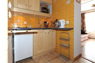 Location au ski Appartement 2 pièces 6 personnes (A5) - Résidence les Lauzes - Les Menuires - Cuisine