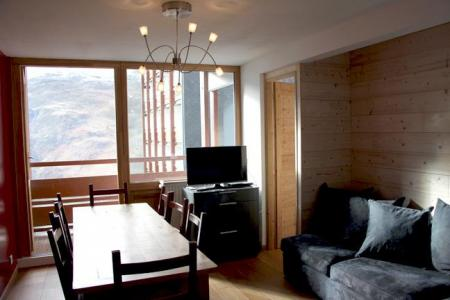 Location au ski Appartement duplex 3 pièces 8 personnes (D1) - Résidence les Lauzes - Les Menuires - Canapé