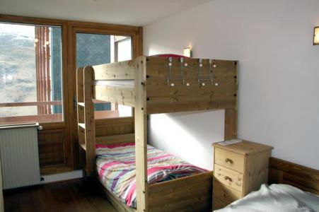 Location au ski Appartement duplex 3 pièces 8 personnes (D1) - Résidence les Lauzes - Les Menuires - Chambre
