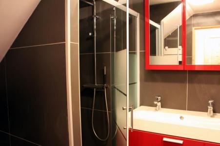 Location au ski Appartement duplex 3 pièces 8 personnes (D1) - Résidence les Lauzes - Les Menuires - Douche