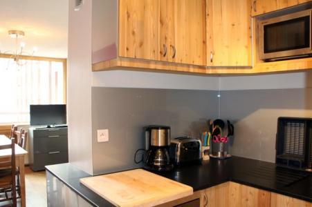 Location au ski Appartement duplex 3 pièces 8 personnes (D1) - Résidence les Lauzes - Les Menuires - Kitchenette