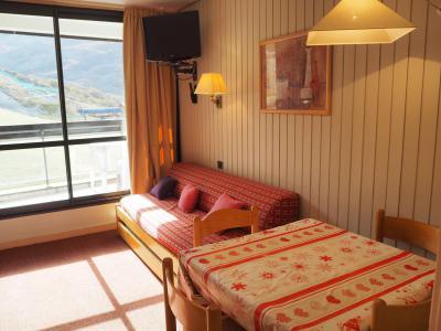 Location au ski Appartement divisible 2 pièces 4 personnes (212) - Résidence les Soldanelles B - Les Menuires - Séjour