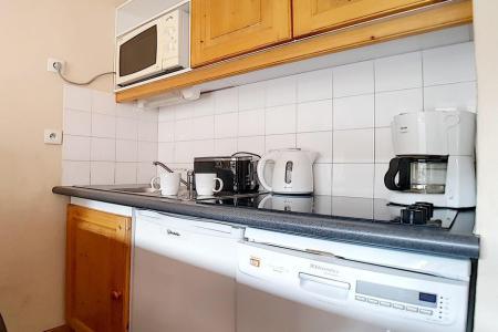 Аренда на лыжном курорте Апартаменты 2 комнат 4 чел. (402) - Résidence les Valmonts - Les Menuires - Кухня