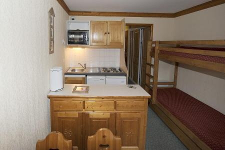 Аренда на лыжном курорте Апартаменты 2 комнат 4 чел. (408) - Résidence les Valmonts - Les Menuires - Небольш&