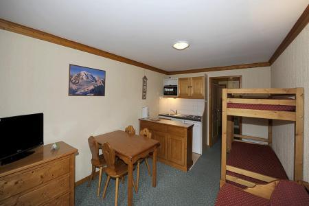 Аренда на лыжном курорте Апартаменты 2 комнат 4 чел. (408) - Résidence les Valmonts - Les Menuires - Салон