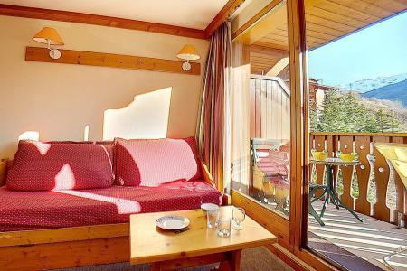 Аренда на лыжном курорте Апартаменты 2 комнат 4 чел. (710) - Résidence les Valmonts - Les Menuires - Салон