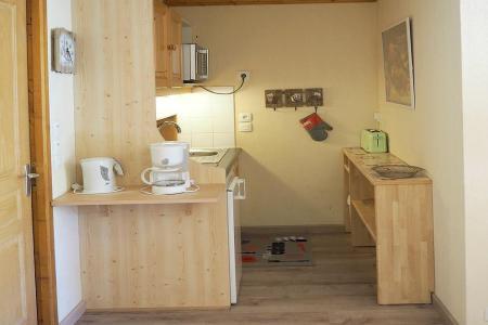 Аренда на лыжном курорте Апартаменты 3 комнат 6 чел. (504) - Résidence les Valmonts - Les Menuires - Кухня