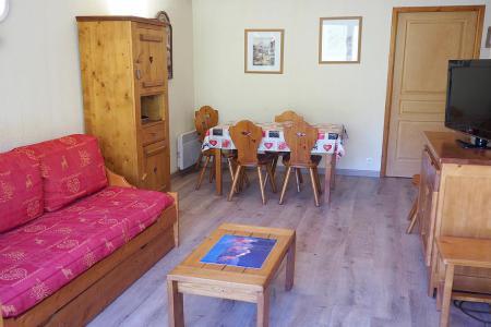 Аренда на лыжном курорте Апартаменты 3 комнат 6 чел. (504) - Résidence les Valmonts - Les Menuires - Салон