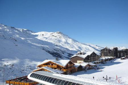 Аренда на лыжном курорте Апартаменты 3 комнат 6 чел. (504) - Résidence les Valmonts - Les Menuires - зимой под открытым небом