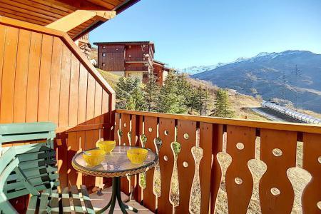 Аренда на лыжном курорте Апартаменты 2 комнат 4 чел. (710) - Résidence les Valmonts - Les Menuires