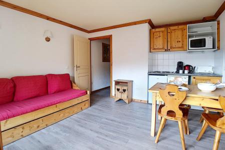 Rent in ski resort 2 room apartment 4 people (13) - Résidence les Valmonts B - Les Menuires - Bunk beds