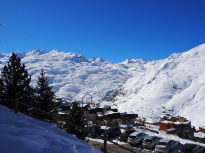 Vacances en montagne Résidence Médian - Les Menuires - Extérieur hiver