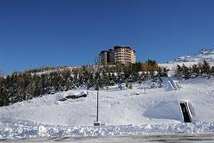 Location au ski Residence Median - Les Menuires - Extérieur hiver
