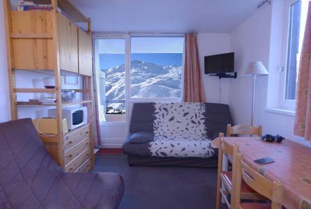 Location au ski Studio cabine 4 personnes (101) - Residence Median - Les Menuires - Séjour