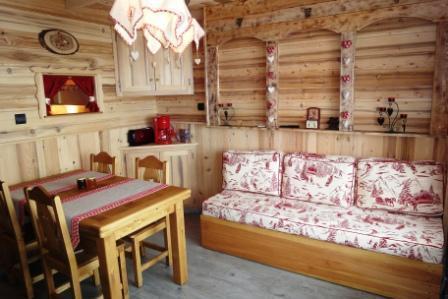 Location au ski Appartement 2 pièces 4 personnes (415) - Residence Necou - Les Menuires - Séjour