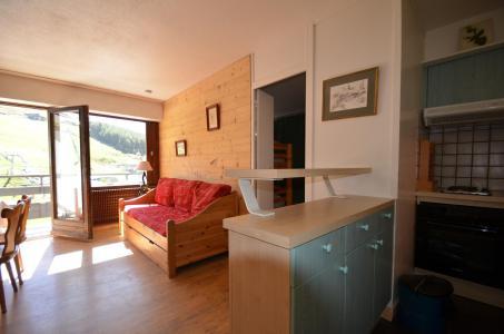 Location au ski Appartement 2 pièces 5 personnes (43) - Résidence Oisans - Les Menuires - Séjour