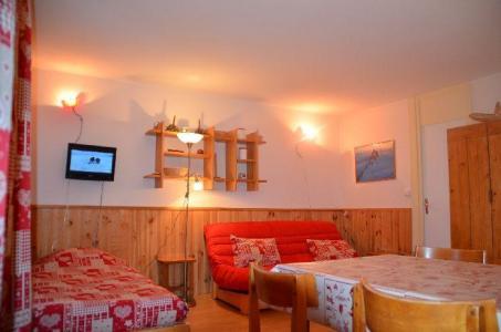 Location au ski Studio 4 personnes (32) - Residence Oisans - Les Menuires - Tv