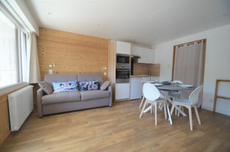 Location au ski Studio cabine 4 personnes (22) - Résidence Oisans - Les Menuires - Séjour