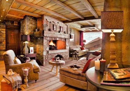 Location au ski Residence P&v Premium Les Alpages De Reberty - Les Menuires - Intérieur