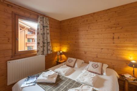 Alquiler al esquí Résidence P&V Premium les Alpages de Reberty - Les Menuires - Cama doble