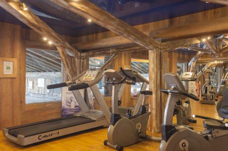 Location au ski Residence P&v Premium Les Alpages De Reberty - Les Menuires - Espace fitness