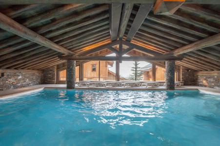 Location au ski Residence P&v Premium Les Alpages De Reberty - Les Menuires - Piscine