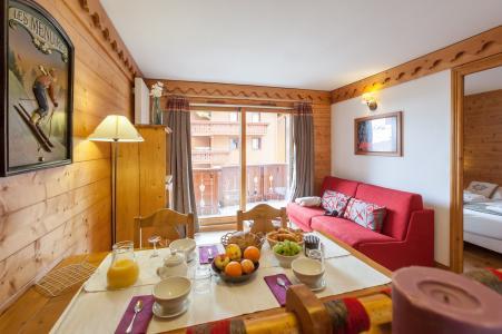 Location au ski Residence P&v Premium Les Alpages De Reberty - Les Menuires - Séjour
