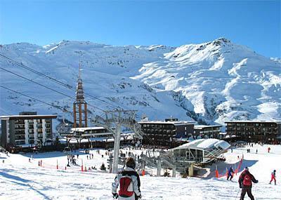 Location Les Menuires : Résidence Peclet hiver