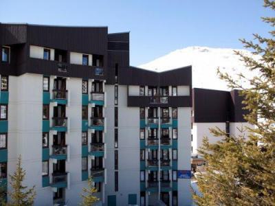 Rent in ski resort Résidence Pierre & Vacances les Combes - Les Menuires - Winter outside