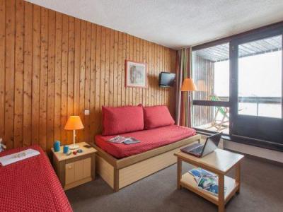 Location au ski Résidence Pierre & Vacances les Combes - Les Menuires - Banquette-lit