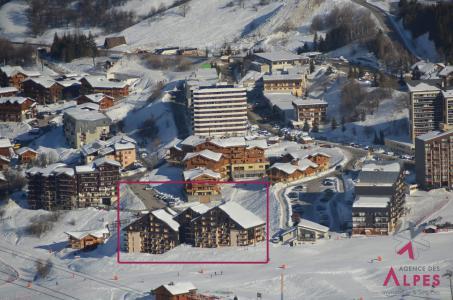 Location à Les Menuires, Résidence Sarvan