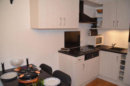 Location au ski Studio 2 personnes (301) - Residence Sarvan - Les Menuires - Cuisine