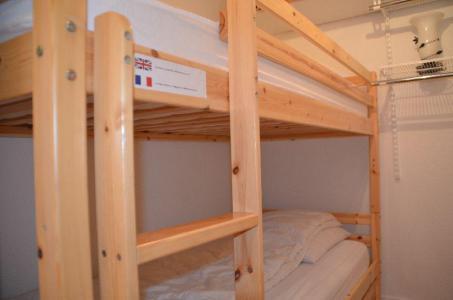 Location au ski Studio 2 personnes (301) - Residence Sarvan - Les Menuires - Lits superposés