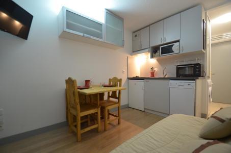 Location au ski Studio cabine 2 personnes (501) - Residence Sarvan - Les Menuires - Kitchenette