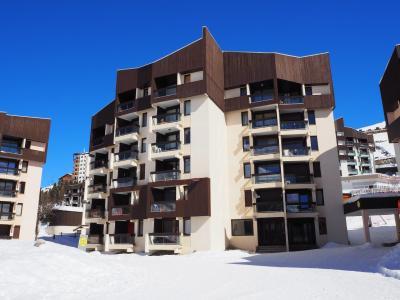 Vacances en montagne Résidence Soldanelles - Les Menuires - Extérieur hiver