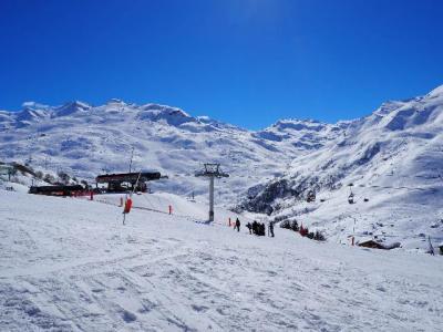 Location au ski Residence Soldanelles - Les Menuires - Extérieur hiver