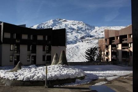 Vacances en montagne Appartement 2 pièces cabine 4 personnes (104) - Résidence Soldanelles - Les Menuires - Extérieur hiver