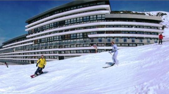 Location au ski Residence Soleil Vacances Les Menuires - Les Menuires - Extérieur hiver