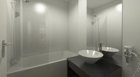 Location au ski Residence Soleil Vacances Les Menuires - Les Menuires - Salle de bains