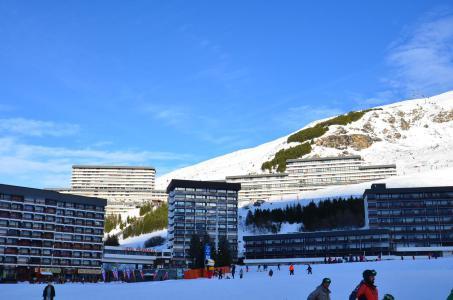 Location au ski Résidence Trois Marches - Les Menuires - Extérieur hiver