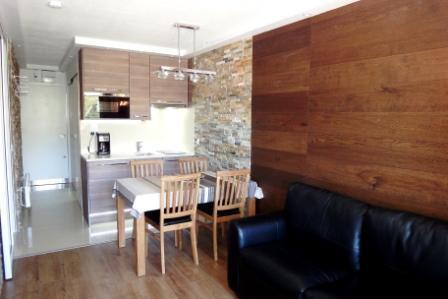 Location au ski Studio cabine 4 personnes (305) - Résidence Villaret - Les Menuires - Cabine