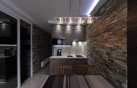 Location au ski Studio cabine 4 personnes (305) - Residence Villaret - Les Menuires - Kitchenette