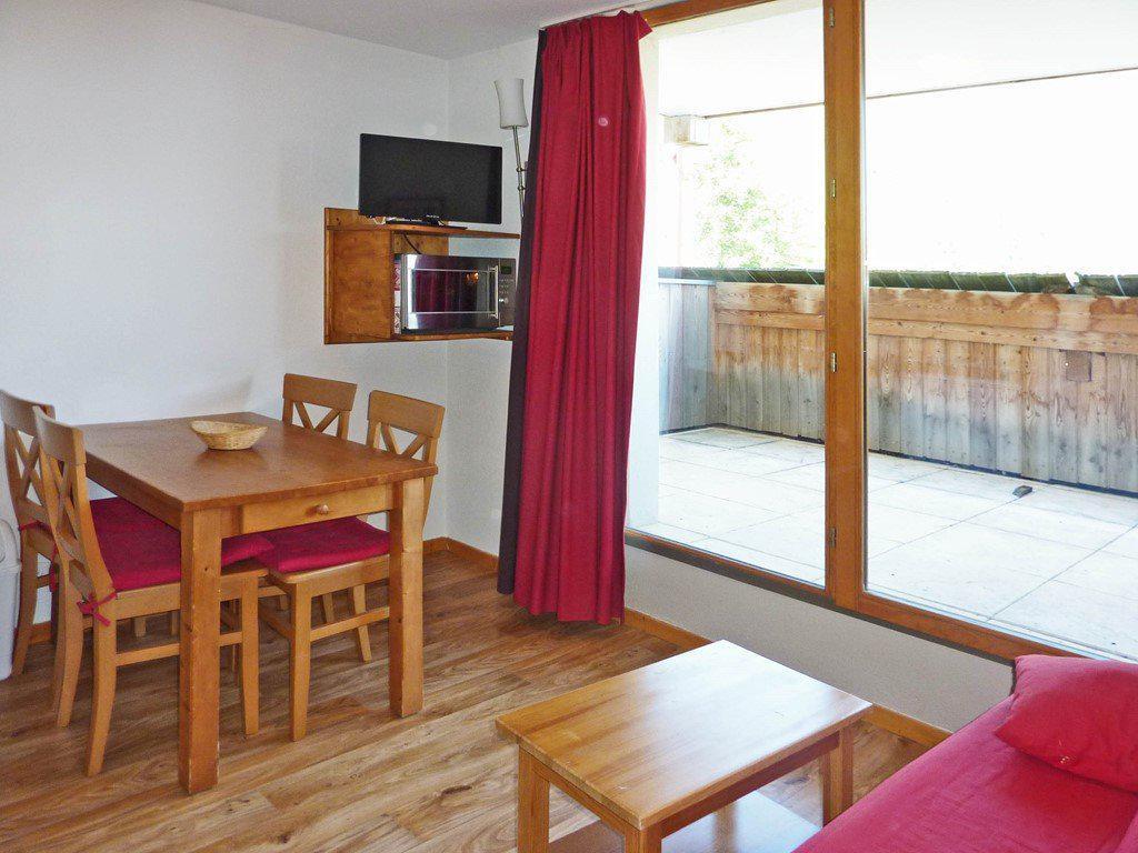 Location au ski Appartement 2 pièces 4 personnes (802) - La Residence Le Bois Mean - Les Orres - Coin repas