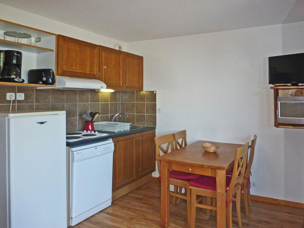 Location au ski Appartement 2 pièces 4 personnes (802) - La Residence Le Bois Mean - Les Orres - Kitchenette