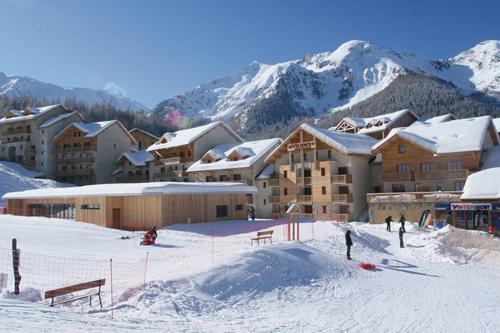 Ski en famille Les Terrasses Du Soleil D'or